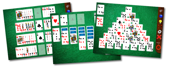 32 solitaire games ifor iPad